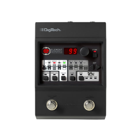 Digitech Element Guitar Multi Effects Pedal - Worcester Guitar Centre Guitar Shop