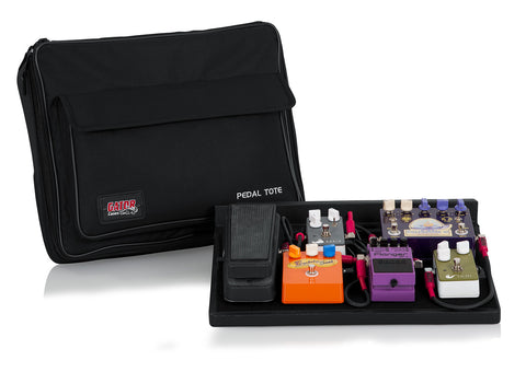 Gator Pedal Tote Pedalboard and Bag GPT-BLACK - Worcester Guitar Centre Guitar Shop - 1