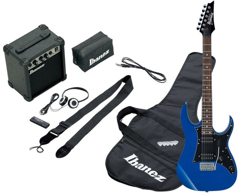 Ibanez IJRG200E-BL Jumpstart Electric Guitar Pack Blue - Worcester Guitar Centre Guitar Shop
