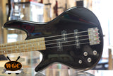 Ibanez GIO GRS200L Left Handed Bass Guitar Black - Pre-Used