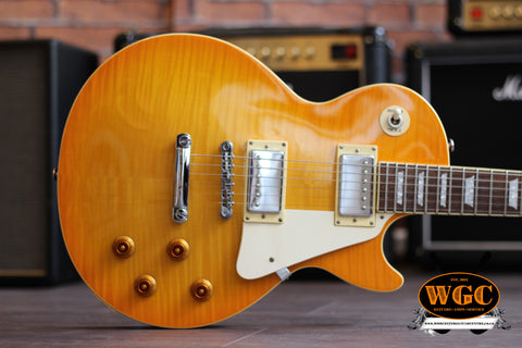 Epiphone 2002 Les Paul Standard by Gibson (Limited Edition) - Lemon Flame Top