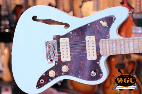 Revelation RJT60 TL Thinline Electric Guitar Sea Foam Green - Worcester Guitar Centre Guitar Shop - 1