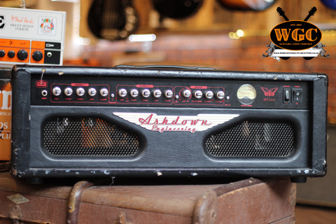 Ashdown FA60H Fallen Angel 60 Watt Electric Guitar Amplifier Head (Pre-Owned)