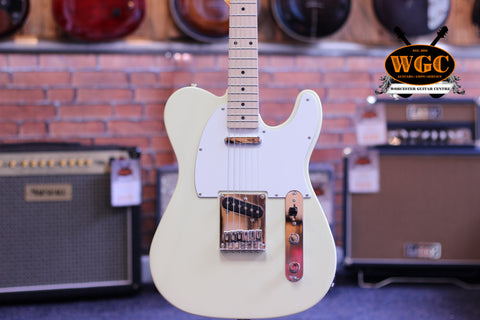 Squier Affinity Series Telecaster Vintage White Pre-Used - Worcester Guitar Centre Guitar Shop - 1
