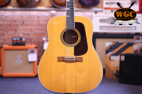 Levin 174 1970 Swedish Made Acoustic Guitar Pre-Used - Worcester Guitar Centre Guitar Shop - 1