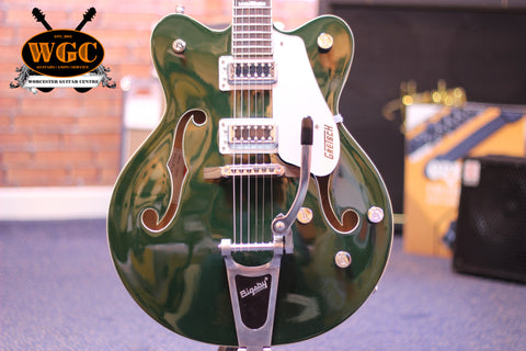 Gretsch G5442TDC Cadillac Green Pre-Used - Worcester Guitar Centre Guitar Shop - 1