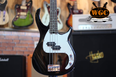 Peavey Milestone BXP Bass Guitar Black Pre-Used - Worcester Guitar Centre Guitar Shop - 1