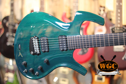Parker Fly Deluxe Dark Green Pre-Used - Worcester Guitar Centre Guitar Shop - 1