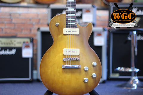 Gibson Les Paul 60's Tribute Honeyburst Pre-Used - Worcester Guitar Centre Guitar Shop - 1