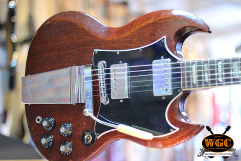 Gibson 1969/70 SG Standard Aged Cherry Pre-Used
