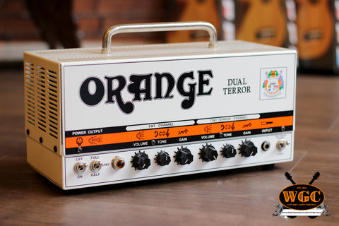 Orange Dual Terror 30w Guitar Amplifier Head with Soft Case (Pre-Owned)