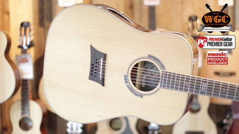 Michael Kelly Triad T10 10 string Acoustic Guitar Natural - Worcester Guitar Centre Guitar Shop - 1