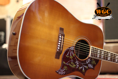 Gibson Hummingbird 2007 Pale Sunburst Electro Acoustic Guitar (Pre-Owned)
