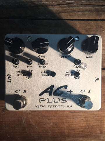 Xotic Effects AC+ Plus Booster Guitar Effects Pedal Pre-Used - Worcester Guitar Centre Guitar Shop