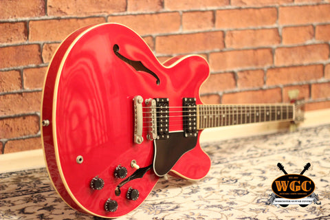 Gibson ES335 Dot 1987 Cherry Red Pre-Used