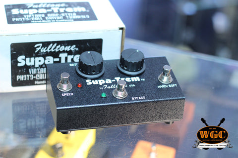 Fullton Supa Trem Tremolo Effects Pedal (Pre-Owned)