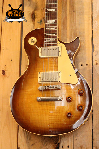 Gibson 1981 Heritage Les Paul H80 Sunburst (Pre-Owned)