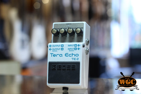 Boss TE-2 Tera Echo Pedal (Pre-Owned)