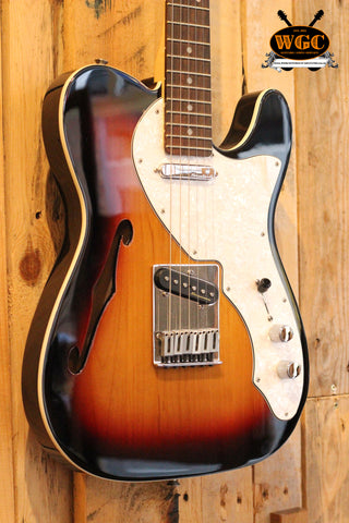 Fender 2016 Deluxe Thinline Telecaster Sunburst (Pre-Owned)