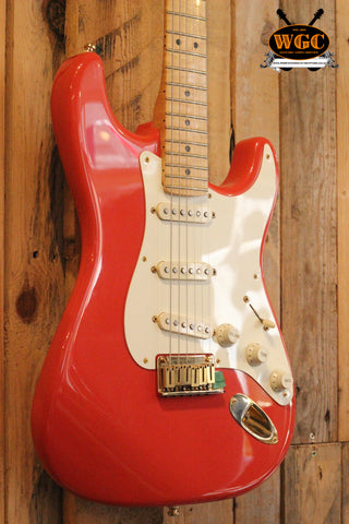 Fender 1998 Custom Shop Classic Collection '56 Stratocaster Fiesta Red (Pre-Owned)