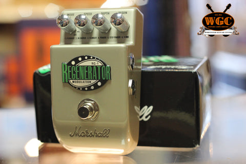 Marshall RG-1 Regenerator Modulation Pedal (Pre-Owned)