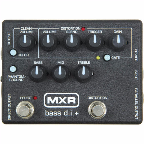 MXR Bass D.I. Plus Distortion Effects Pedal - Worcester Guitar Centre Guitar Shop