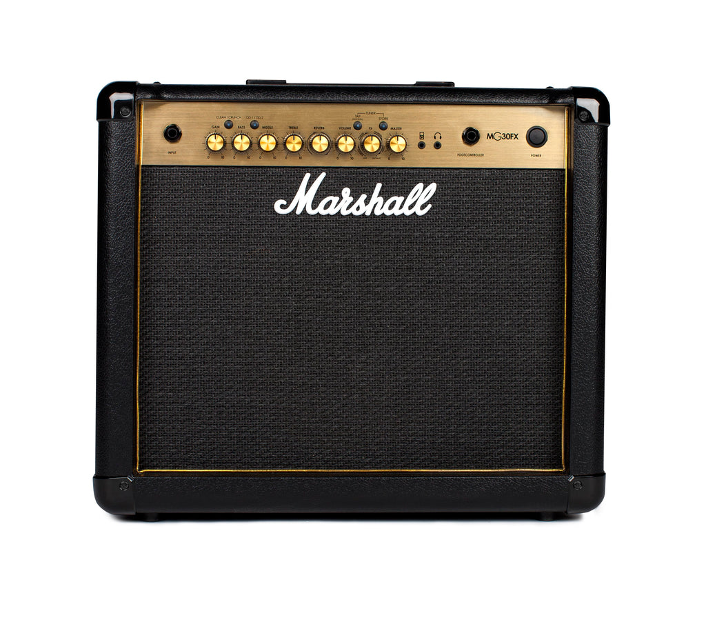 marshall mg30fx black and gold 30w combo guitar amplifier worcester guitar centre. Black Bedroom Furniture Sets. Home Design Ideas
