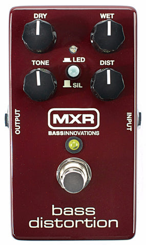 MXR M85 Bass Distortion Effects Pedal - Worcester Guitar Centre Guitar Shop