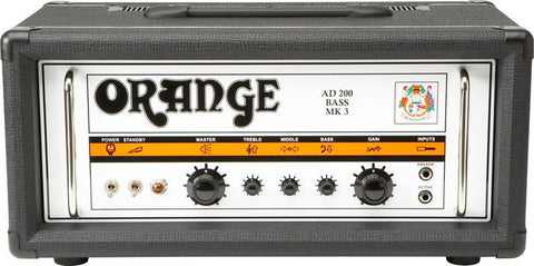 Orange AD200B Bass Amp Head Black - Worcester Guitar Centre Guitar Shop