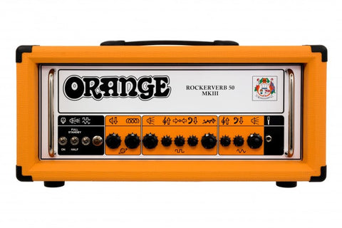 Orange Rockerverb 50H MKIII Guitar Amp Head - Worcester Guitar Centre Guitar Shop