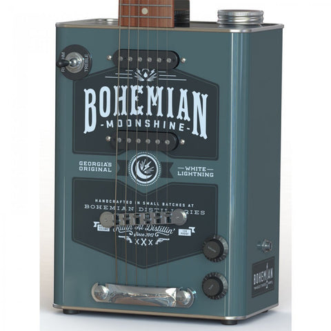 Bohemian Moonshine Oil Can Electric Guitar - Worcester Guitar Centre Guitar Shop - 1