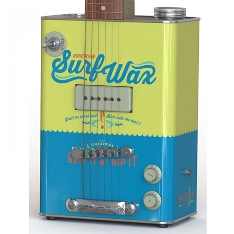 Bohemian Surf Wax Oil Can Electric Guitar - Worcester Guitar Centre Guitar Shop - 1