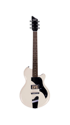 Supro Jamesport Electric Guitar - Antique White
