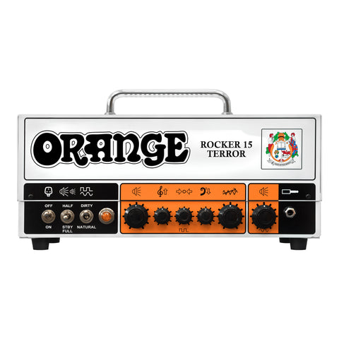 Orange Rocker 15 Terror Guitar Amplifier Head - Front