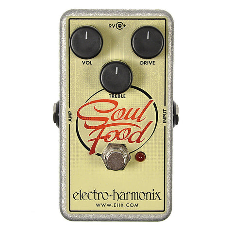 Electro Harmonix Soul Food Distortion/Fuzz/Overdrive - Worcester Guitar Centre Guitar Shop