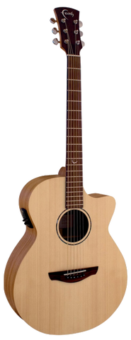 Faith Naked Venus FKV Acoustic Guitar Natural - Worcester Guitar Centre Guitar Shop - 1