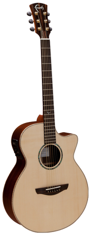 Faith HiGloss Venus FVHG Electro Cutaway Acoustic Guitar Natural - Worcester Guitar Centre Guitar Shop - 1