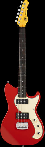 G&L Tribute Fallout Electric Guitar Fullerton Red - Worcester Guitar Centre Guitar Shop