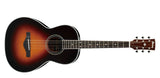Ibanez AVN1-BS Parlour Acoustic Guitar Brown Sunburst - Worcester Guitar Centre Guitar Shop - 2