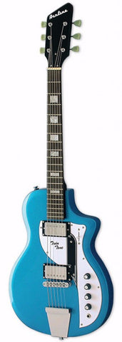 Airline Twin Tone Electric Guitar Metallic Blue - Worcester Guitar Centre Guitar Shop