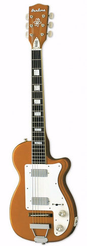 Airline H44 DLX Electric Guitar Copper - Worcester Guitar Centre Guitar Shop