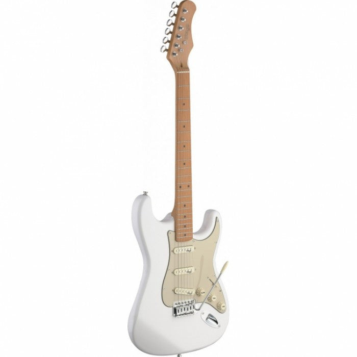 Stagg S Vintage Style Electric Guitar Classic White