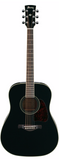 Ibanez AW70-BK Acoustic Guitar Black - Worcester Guitar Centre Guitar Shop - 1