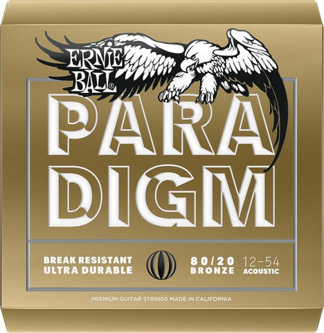 Ernie Ball Paradigm 80/20 BRONZE, MEDIUM-LIGHT - 12-54