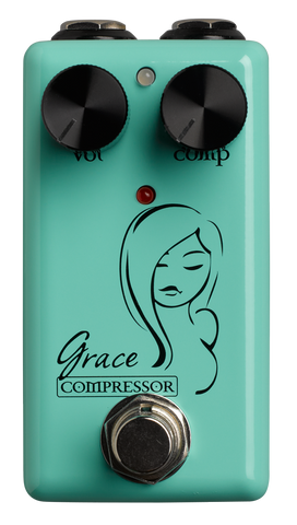 Red Witch Seven Sisters Grace Compressor Pedal - Worcester Guitar Centre Guitar Shop