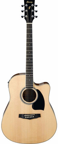 Ibanez PF15ECE Electro Acoustic Guitar Natural - Worcester Guitar Centre Guitar Shop