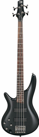 Ibanez SR300L-IPT Left Handed Bass Guitar Iron Pewter - Worcester Guitar Centre Guitar Shop