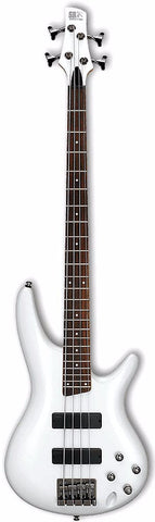 Ibanez SR300EB-PW Bass Guitar White - Worcester Guitar Centre Guitar Shop