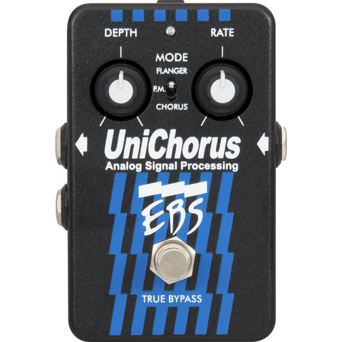 EBS Unichorus Bass Guitar Pedal - Worcester Guitar Centre Guitar Shop