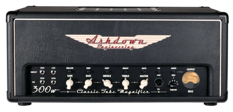 Ashdown CTM-300 Valve Bass Amp Head - Worcester Guitar Centre Guitar Shop